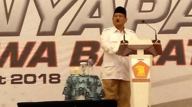 Prabowo Subianto: Kalau Ditanya Mau Nyalon Lagi Enggak, Saya Jawabnya Mau Keliling Dulu