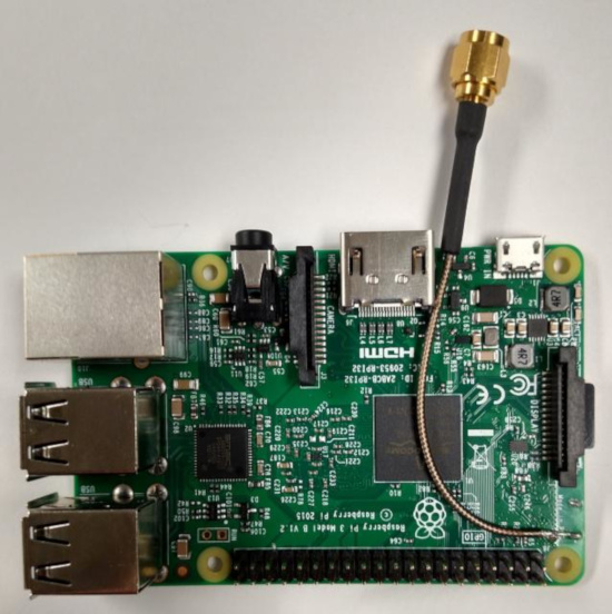 alteracao antena raspberry pi 3