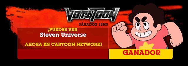 Votatoon de la Semana - Steven Universe