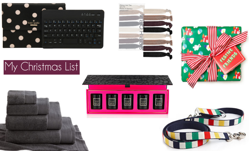 christmas list kate spade sephora lush hudson bay