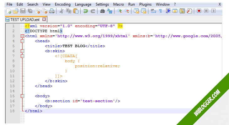 cara instal theme blogger terbaru