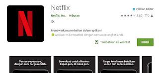 Layanan streaming film Netflix