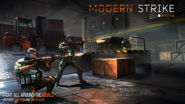 Modern Strike Online fight all around the world