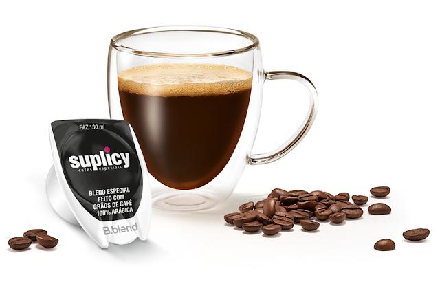 Bebida em cápsula Café Suplicy Brastemp B.blend