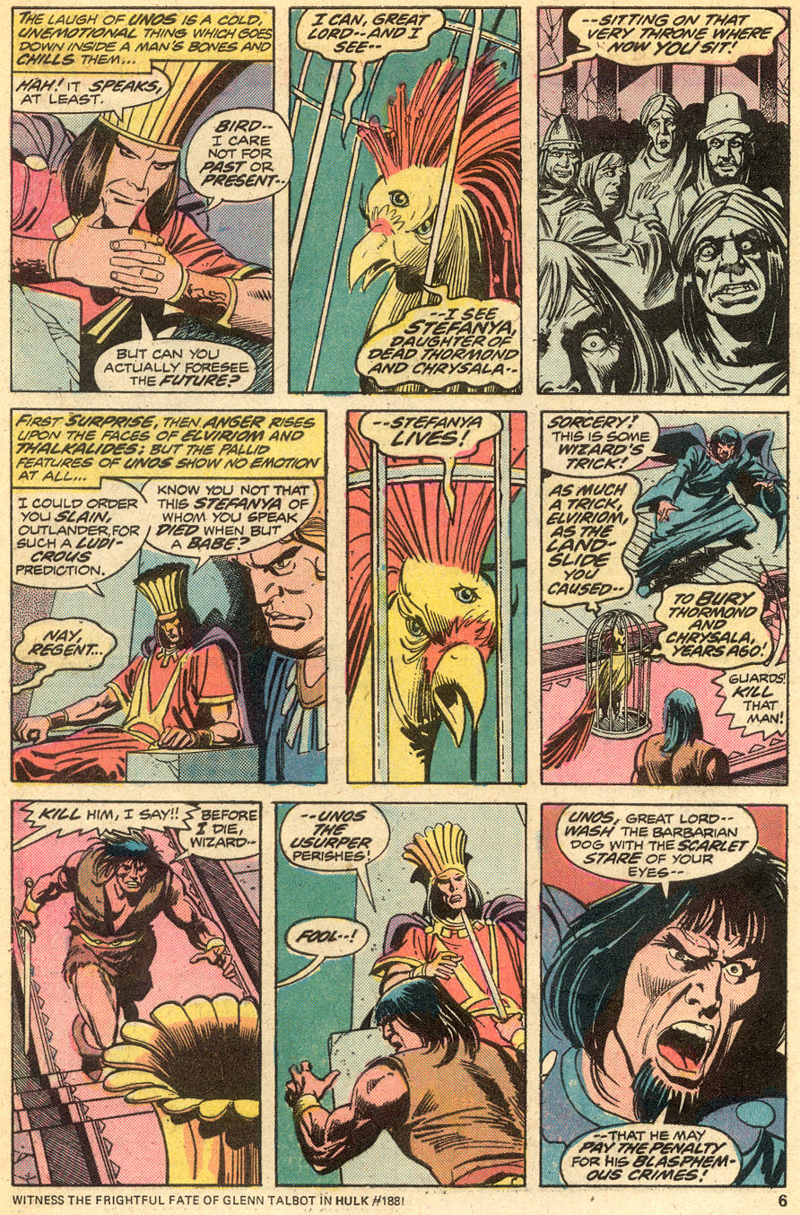 Conan the Barbarian (1970) Issue #51 #63 - English 5