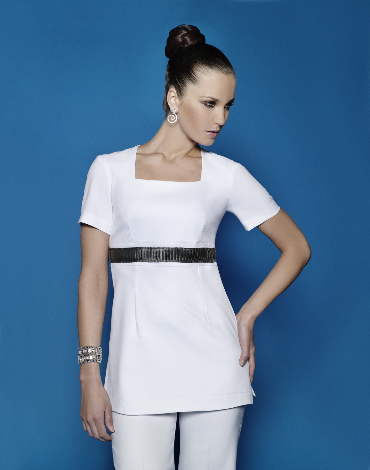 Buttercups uniforms 3 for 2 on all salon wear from for White spa uniform uk