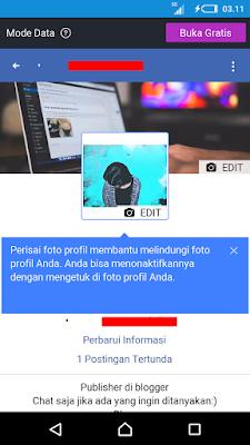 Sukses/Done Mengaktifkan Profile Picture Guard Facebook
