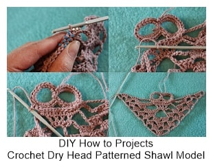 Crochet Shawl Models 4