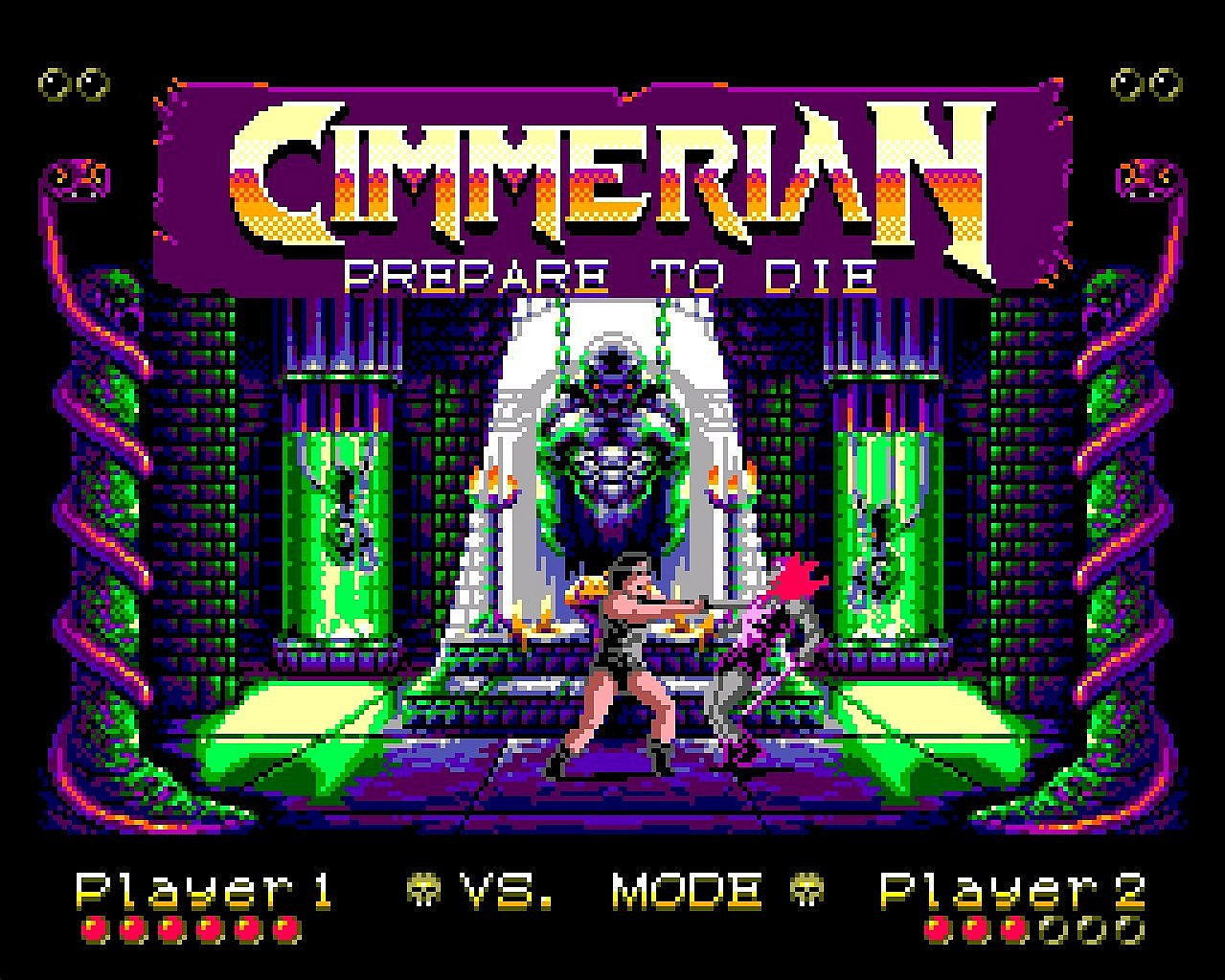 Indie Retro News: Cimmerian - Graphically impressive 'Barbarian
