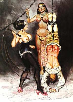 euzinha spanking art