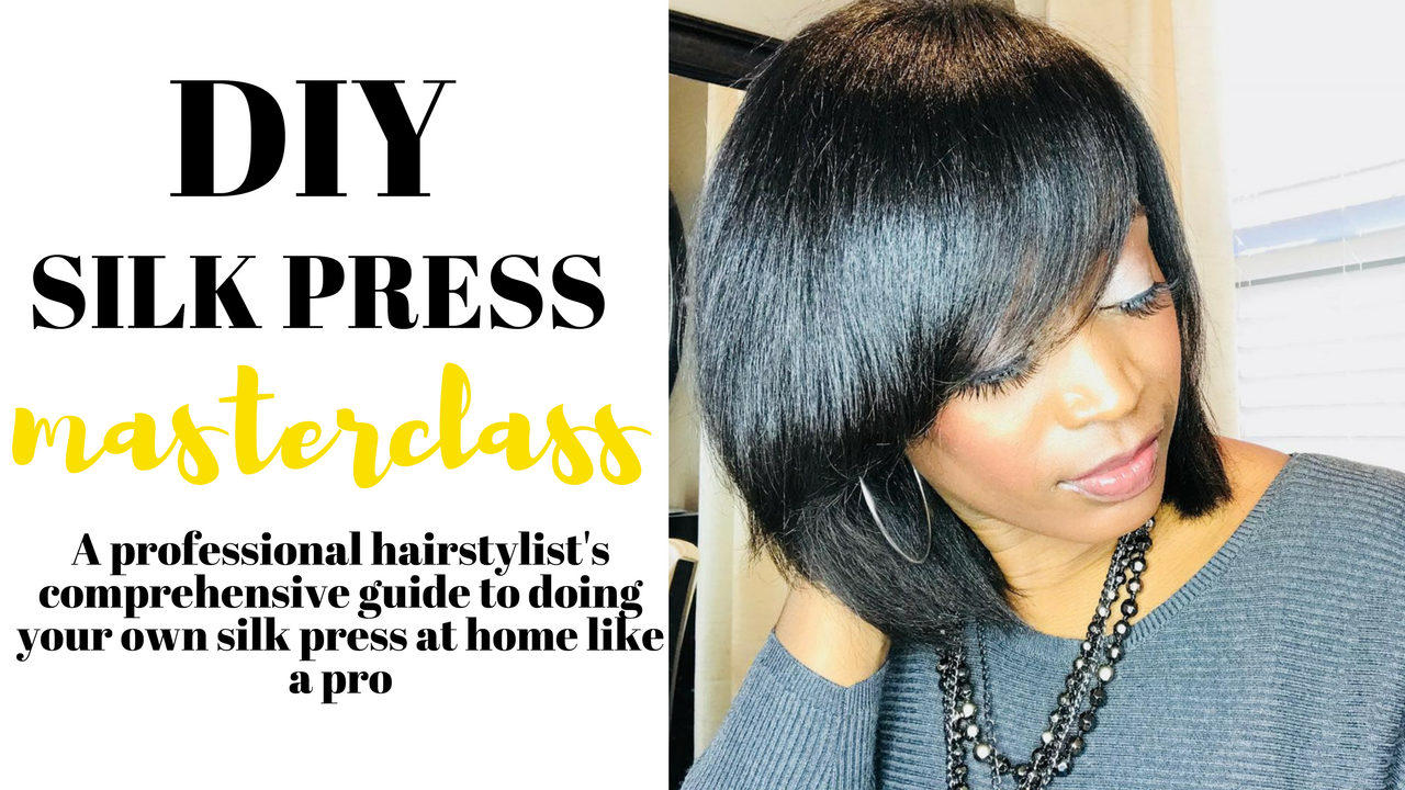 How To Wear Your Natural Hair Straight Without Damaging Your