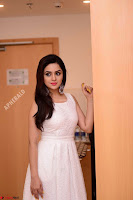 Ragini in Beautiful Cream Sleeveless Gown Perfect makeup ~  Exclusive 013.jpg