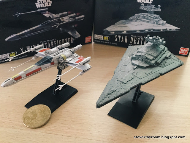 Bandai Mini X-Wing Star Destroyer