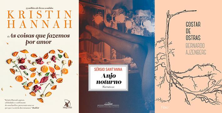 Livros | Lançamentos literários de setembro: drama, amor, temas delicados e sobre mulheres
