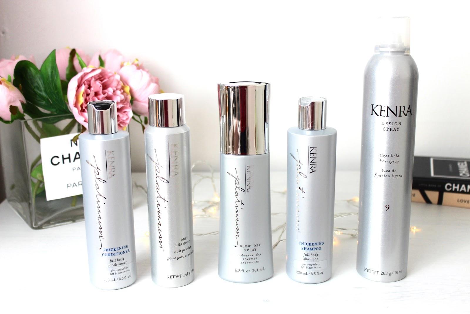 Kenra Haircare shampoo, conditioner dry shampoo