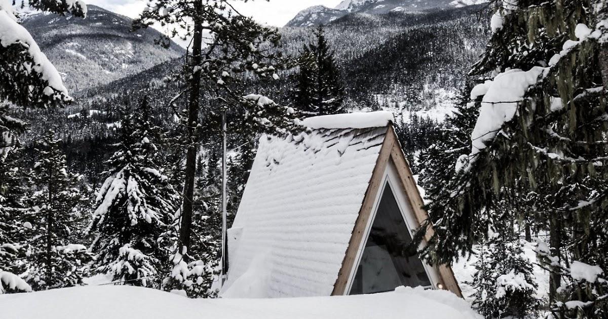 Rifugio di montagna in legno a vancouver arc art blog by for Vista sulla valle cabine colline hocking
