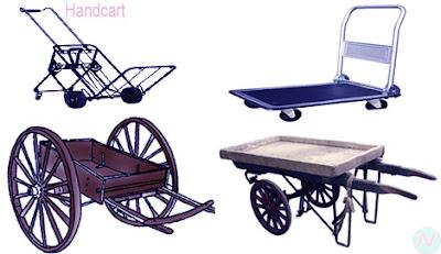 Handcart, ঠেলা গাড়ি