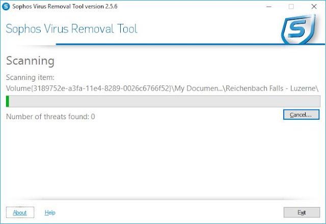 Sophos Virus Removal Tool | Supratim Sanyal's Blog