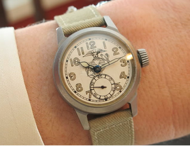 Vintage hamilton watch restoration wwii military watches for Marine watches
