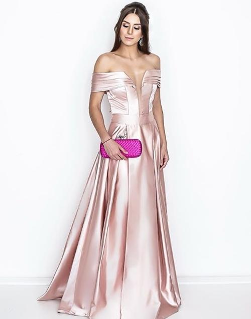 vestido de festa rose madrinha