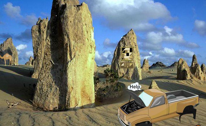 WowEscape Rock Desert Escape Walkthrough