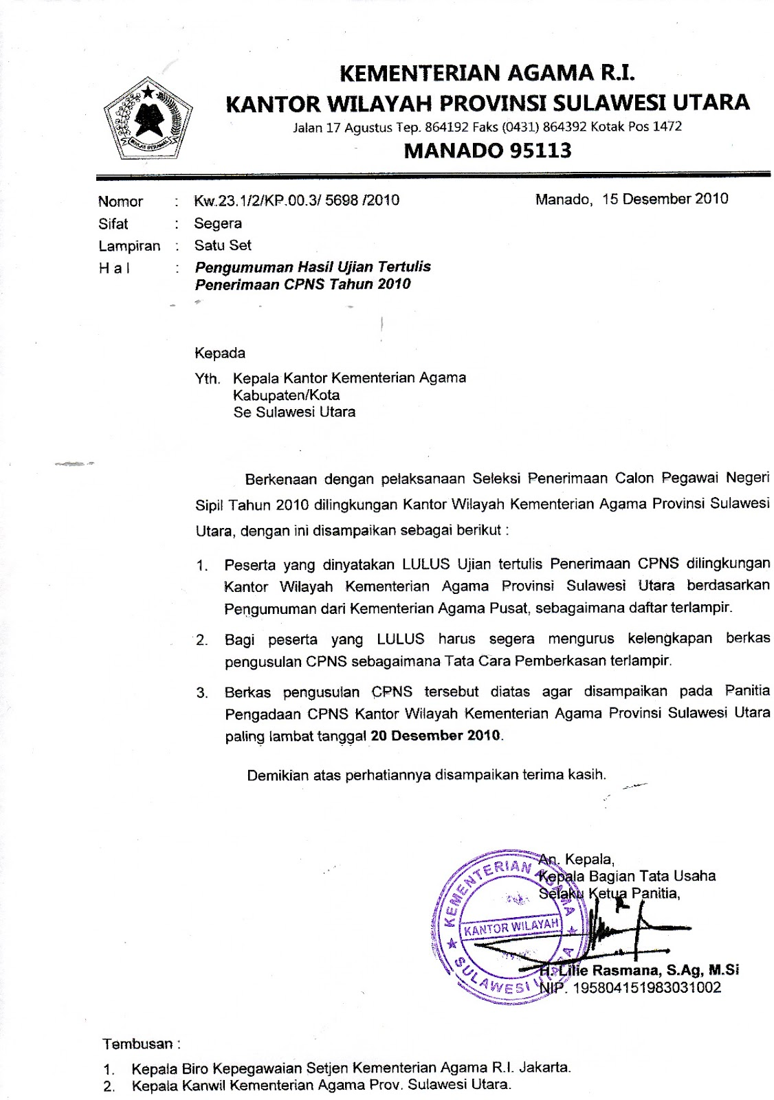 Contoh Surat Kumpulan Contoh Surat Terbaru Contoh Dokumen