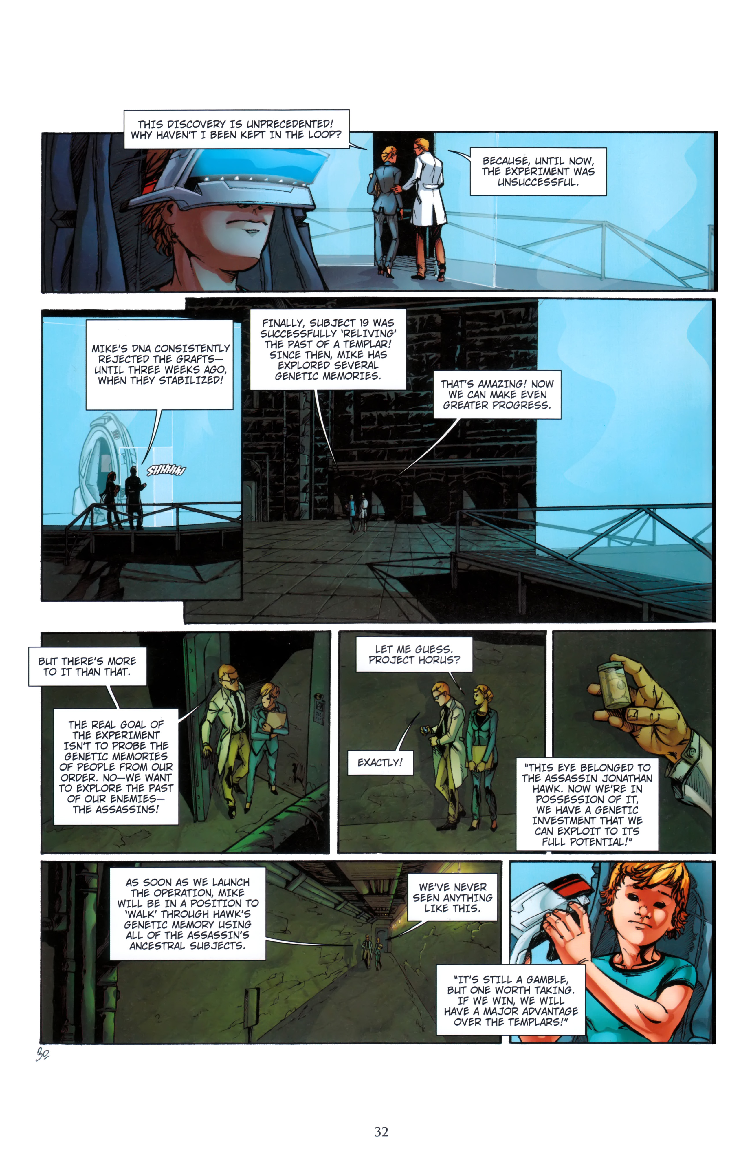 Read online Assassin's Creed (2012) comic -  Issue #5 - 32