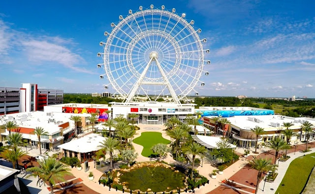 Rueda Gigante Orlando Eye en I-Drive 360