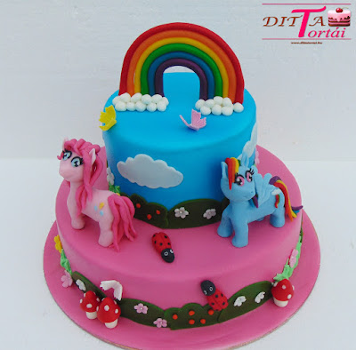 Emeletes My little pony torta