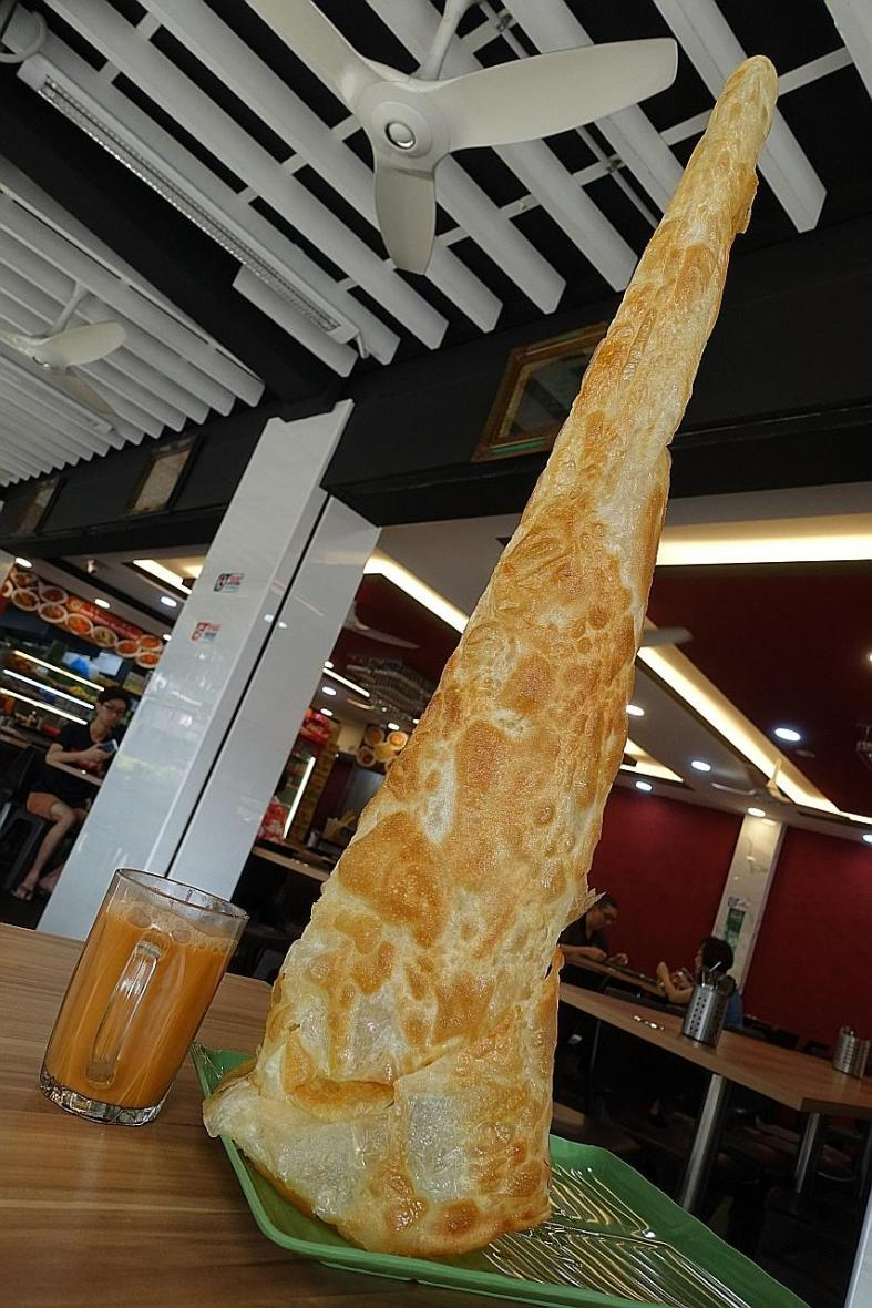 Roti Prata Tissue from R.K. Eating House