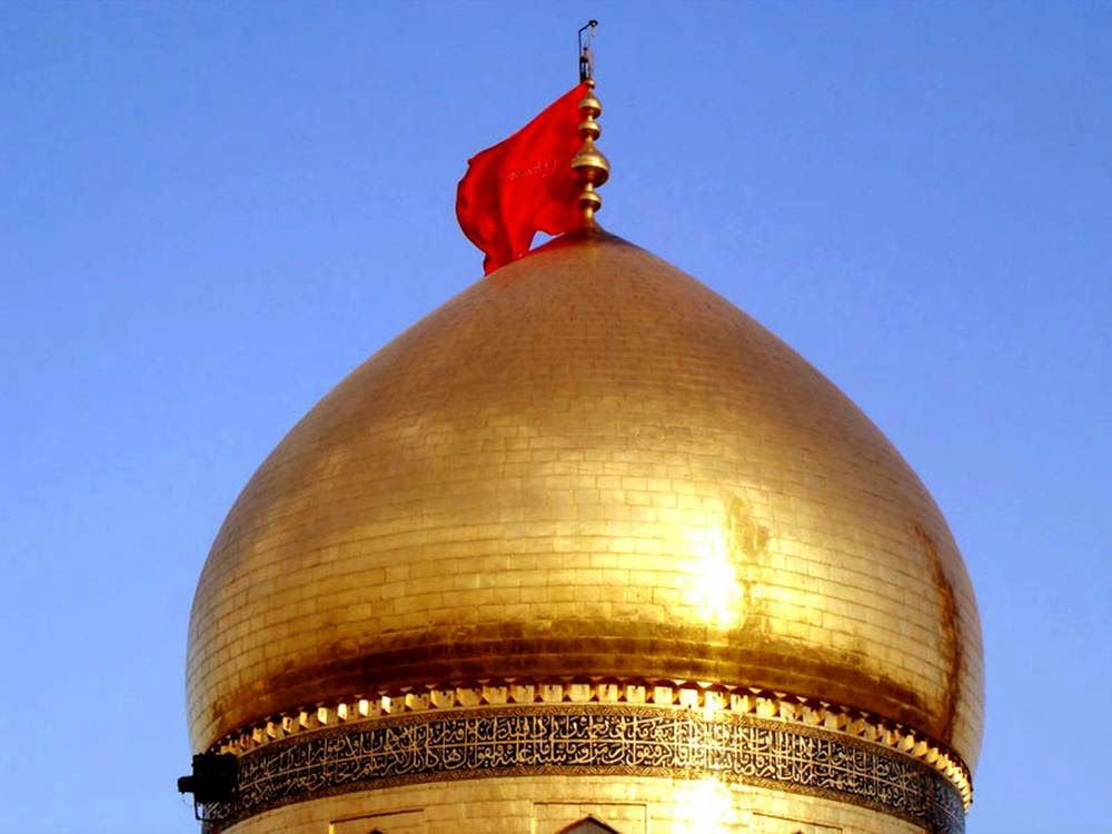 Maula Ali Shrine Wallpaper: Shrine Of Imam Husayn: The Historical Shrine In Karbala