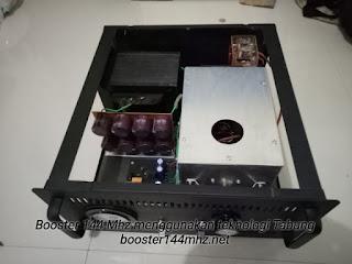 Produk Booster 144 Mhz berteknologi Tabung