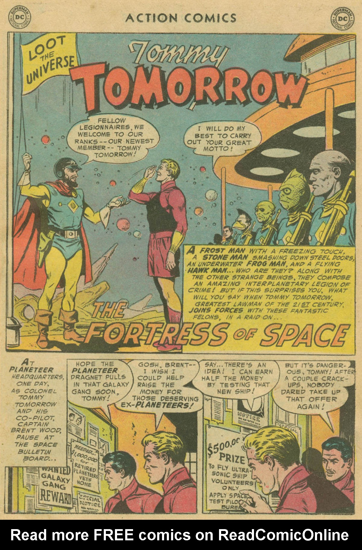 Read online Action Comics (1938) comic -  Issue #208 - 16