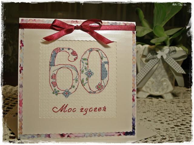 Pamiątka na 60-te urodziny