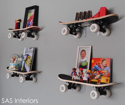 Boy Room 11 Unique shelving options 11