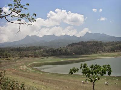 Gambar Waduk Gunung Rowo Pati Jawa Tengah