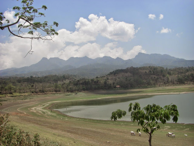 Waduk Gunung Rowo di Pati Jawa Tengah
