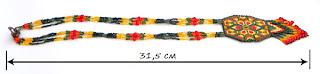 бисер бисероплетение мозаика peyote necklace native american