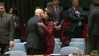 Russia's Permanent Representative at the UN Vasily Nebenzya