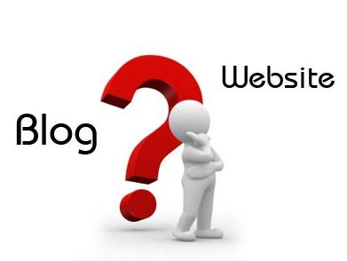 blog dan website