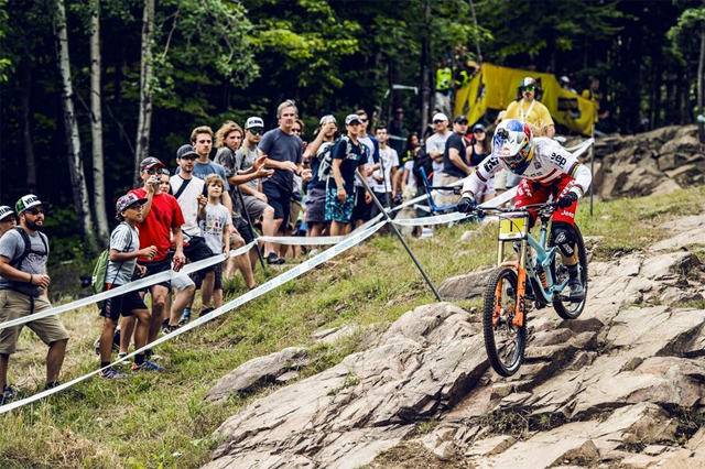 2016 Mont Sainte Anne UCI World Cup Downhill: Results and Highlights - Rachel Atherton