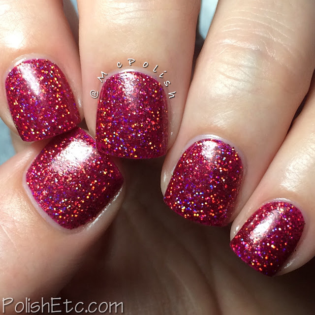 Nine Zero Lacquer - Thanksgiving Trio - McPolish - Cranberry Sauced