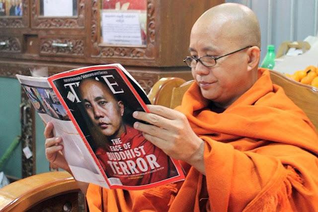 "Wirathu ""Teroris Berbaju Biksu"" Sesumbar Ancam Muslim Aceh"