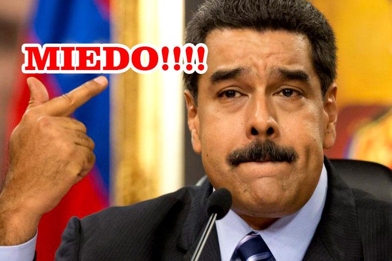 Maduro Cobarde no fue a la toma de pose de Lopez Obrador
