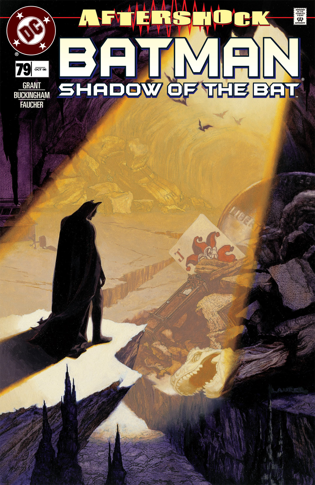 Batman: Shadow of the Bat 79 Page 1