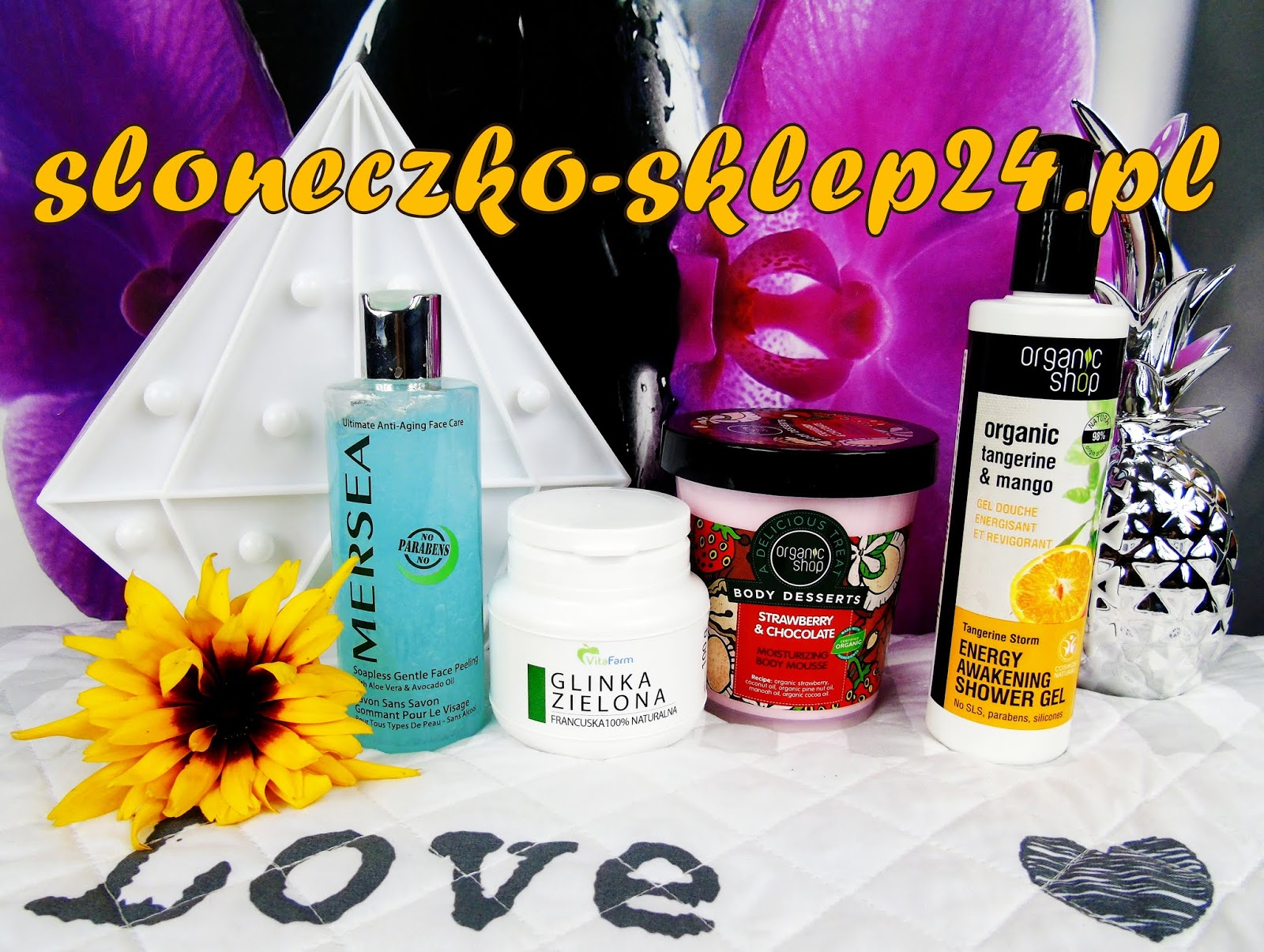 Moje kosmetyczne zakupy w sklepie internetowym www.sloneczko-sklep24.pl
