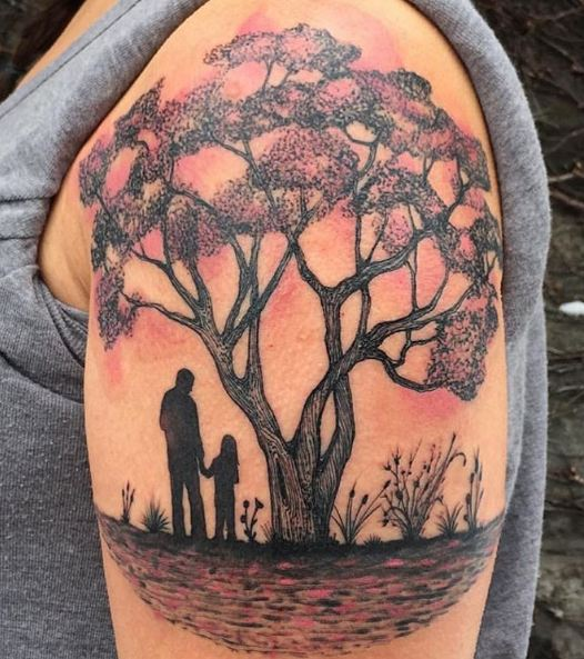 50 Meaningful Tree Tattoos Designs for Nature Lovers () of 21 by Patrick