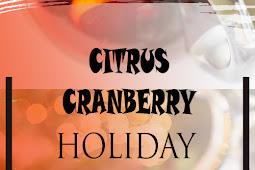 Citrus Cranberry Holiday Sangria