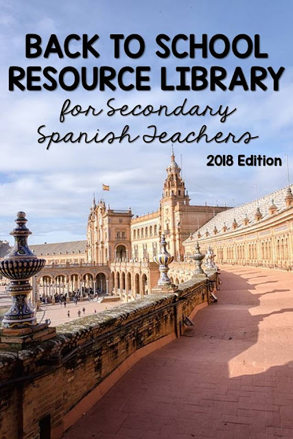 Spanish Back to School Resource Library