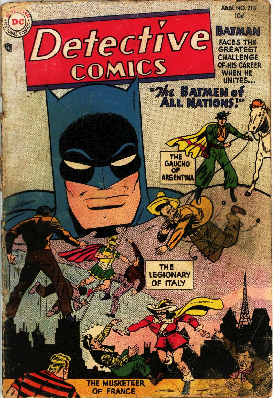 Read online Detective Comics (1937) comic -  Issue #215 - 1